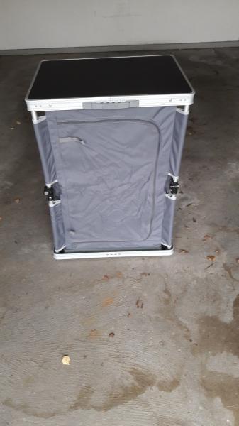 Wecamp opbevaringsskab - Skive - Wecamp opbevaringsskab med hylder 80 x 60 x 50 cm - Skive